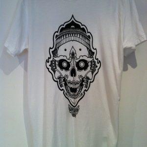 Mens organic Skull tee
