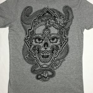 Skull and Dragon tee