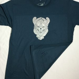 Skull and Dragon silver bling tee