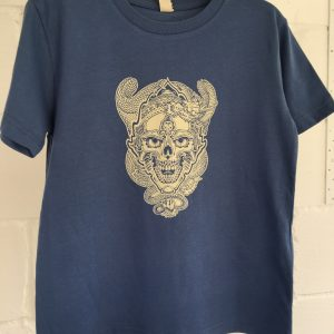 Skull and Dragon kids tee