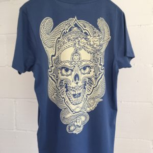 Fairtrade Skull and Dragon tee