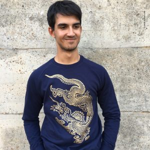 Navy Dragon Sweatshirt